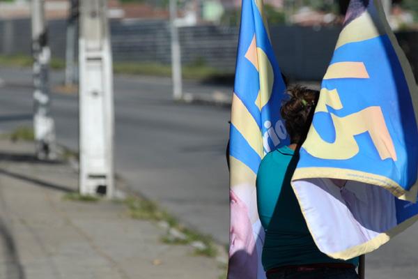 Propaganda eleitoral nas ruas é fiscalizada pelos técnicos do TRE