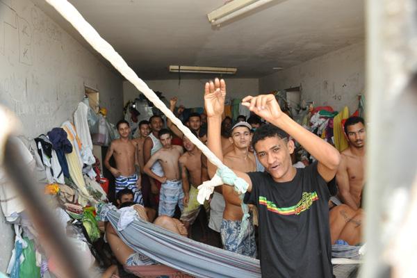 Na última terça-feira (7), a Custódia da Cidade da Esperança, porta de entrada do sistema, abrigava 81 presos