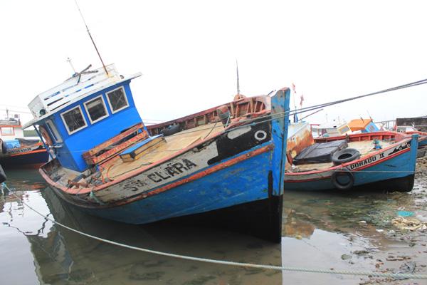 Barco desaparecido é semelhante ao da fotografia acima