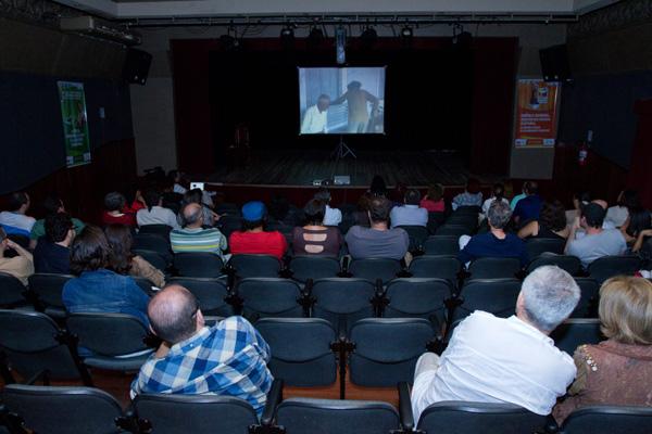 Sala do TCP recebeu está semana diretores como Eduardo Escorel e Lírio Ferreira