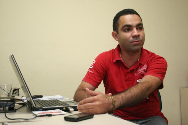 Daniel Fernandes é o presidente da Comissão de Fiscalização
