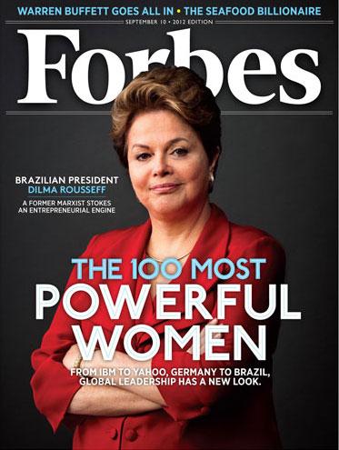 Dilma Rousseff na capa da Forbes