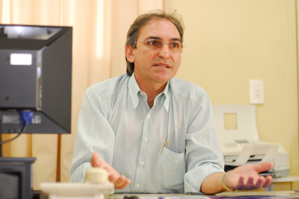 Marcelo Queiroz, presidente da Federação do Comércio do RN: Temos a consciência de que garantir o estacionamento hoje é obrigação de cada loja, prédio, estabelecimento. Entendemos também que a rua é local para os carros andarem