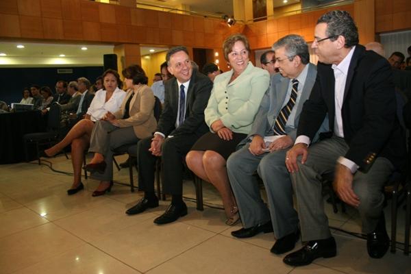 Ministro Aguinaldo Ribeiro teve conversa com Henrique Eduardo Alves, Rosalba Ciarlini e Garibaldi Filho