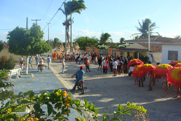 Caravana Marista de Cultura movimenta a juventude das cidades, como em Passagem (RN)