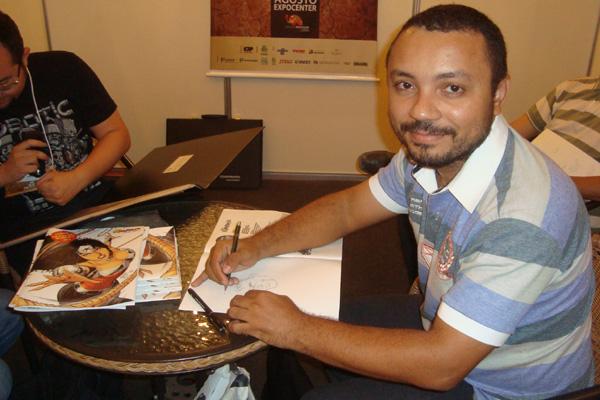 De mudança para Natal, onde montará um estúdio para criação e cursos, Geraldo Borges também lançará 'artebook' com heróis criados para a DC Comics