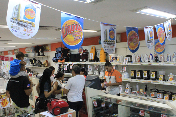 Loja de eletrodomésticos no centro da cidade: O setor é um dos que esperam mais movimento
