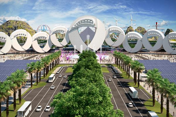 O projeto, batizado Enerland - The Power of Fun (Terra da Energia - O Poder da Diversão), prevê a instalação de parques eólicos e hotéis