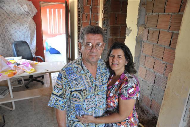 Nilton Rocha e Graça : obra em casa poderia ser mais salgada