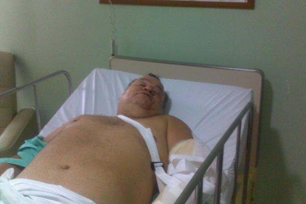 O jornalista Roberto Guedes sofreu um atentado em Caiçara do Rio dos Ventos