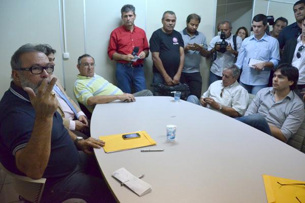 Representantes do Seturn e Semob anunciaram ontem o acordo que determina a volta da integração no transporte público de Natal