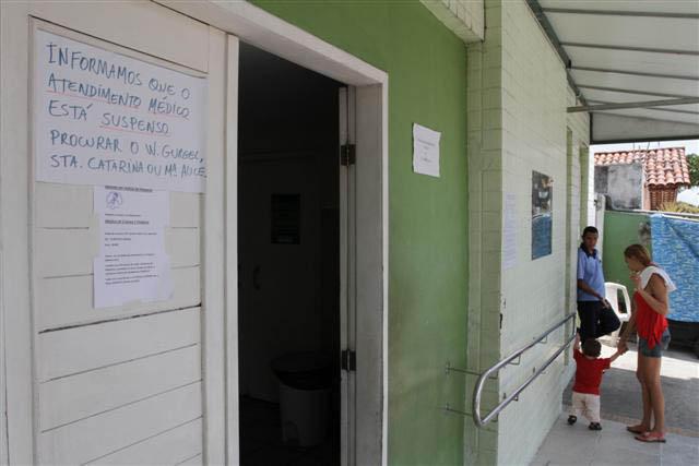 Unidades de saúde chegaram a parar completamente com a paralisação dos serviços das cooperativas