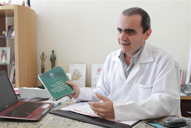 Somos nós que recebemos a demanda do poder público, que cada vez mais precisa contratar esses serviços - Fernando Pinto - presidente da Coopmed