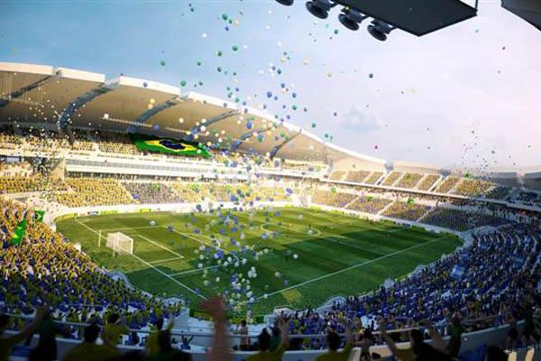 Arena das Dunas, em Natal, terá capacidade para 45 mil torcedores sentados