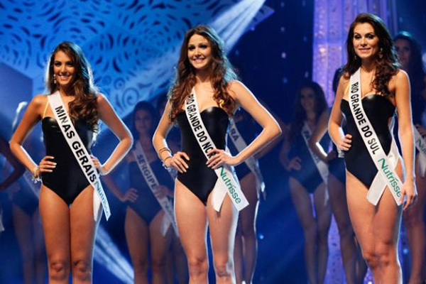 A Miss Rio Grande do Norte Kelly Fonseca ficou entre as três finalistas.