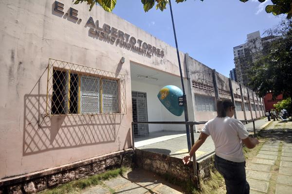 Escola Estadual Alberto Torres obteve índice 1,6 no último Ideb