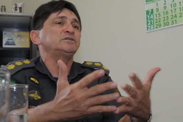 Comandante do Policiamento Metropolitano, Cel Wellington Alves