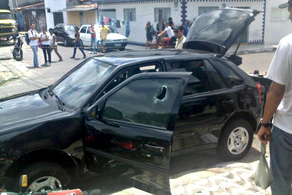 Peritos averiguaram o carro dirigido pela vítima