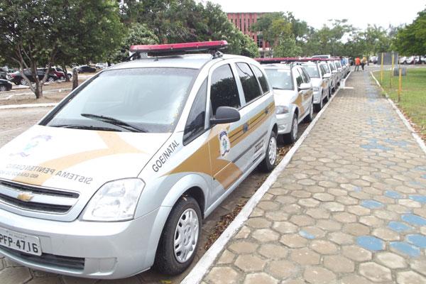 Penitenciárias, Cadeias Públicas e Centros de Detenções Provisório serão atendidas com os carros novos