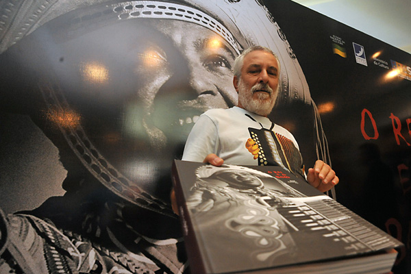 Bené Fonteles, autor do livro que inspirou o filme Gonzaga, De Pai Para Filho,é uma das atrações do Festival Literário da Pipa
