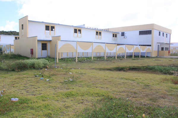 Novo Pavilhão chegou a receber presos, mas foi desativado