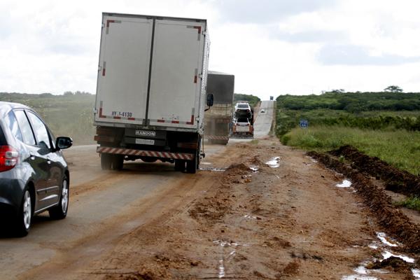 Trecho da BR-226 teve a pior classificação na pesquisa da CNT no Rio Grande do Norte