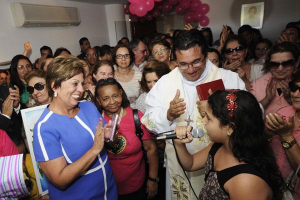 Rosalba Ciarlini recebeu homenagens na Governadoria