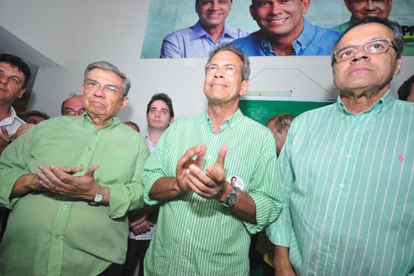 Hermano comentou resultado da eleição ao lado de Garibaldi e Henrique