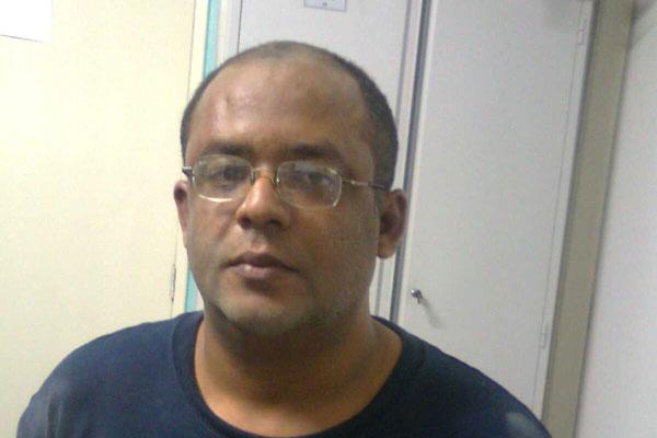Robson Medeiros da Silva, o Gordo, é suspeito de participação em assalto à residência do desembargador João Rebouças, no dia 24 de setembro