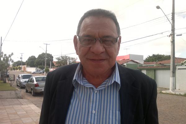 Rivaldo Fernandes,que faz parte da equipe de transição da prefeitura, foi até a casa de Micarla