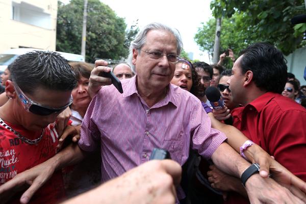 Dirceu foi condenado pelos ministros do STF  por crime de corrupção ativa e formação de quadrilha