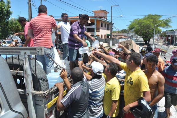 Sindicato ofereceu estrutura para protesto