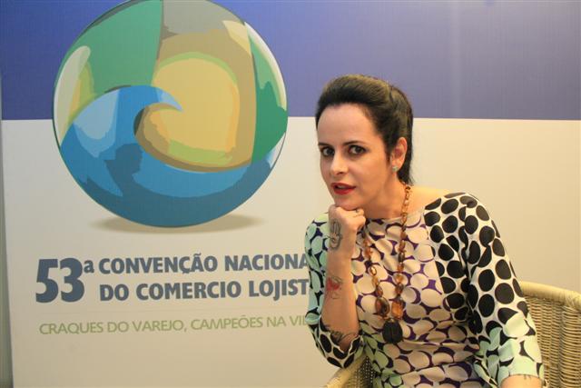 16/11/12 - Convenção nacional do comércio lojista.Marcelo Rosado.Fernanda Young - Jornalista e roteirista.
