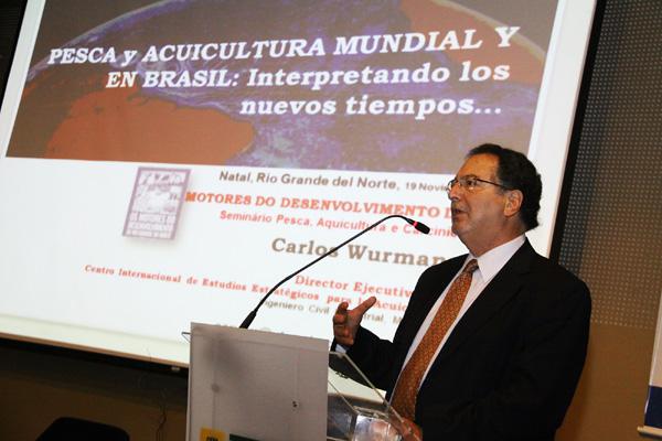 Carlos Wurmann, consultor em organismo das Nações Unidas é um dos responsáveis pelo sucesso chileno na indústria da pesca