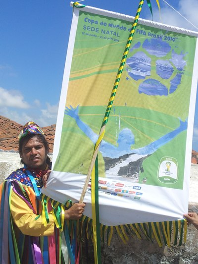 A cerimônia de apresentação do pôster ocorreu na manhã deste domingo (25), no Forte dos Reis Magos