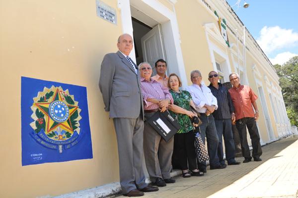 Valério Mesquita, futuro presidente, à esquerda: Queremos recuperar, climatizar, digitalizar o acervo para colocar o Instituto nessa nova era