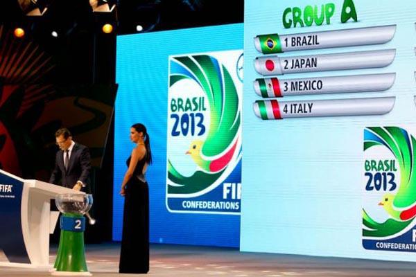Primeiros adversários, Japão e México costumam complicar a vida brasileira na Copa das Confederações