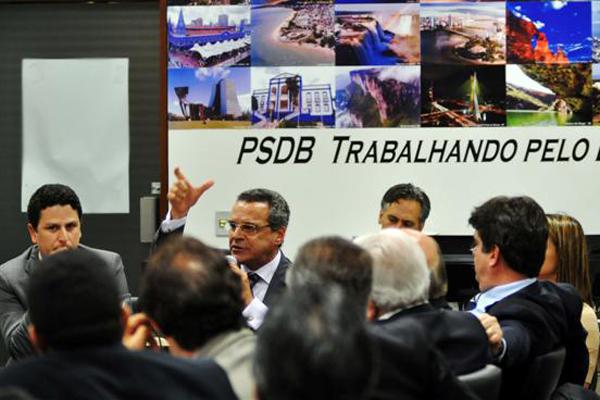 Deputados do PSDB confirmam que decidiram votar em Henrique Eduardo para presidente da Câmara