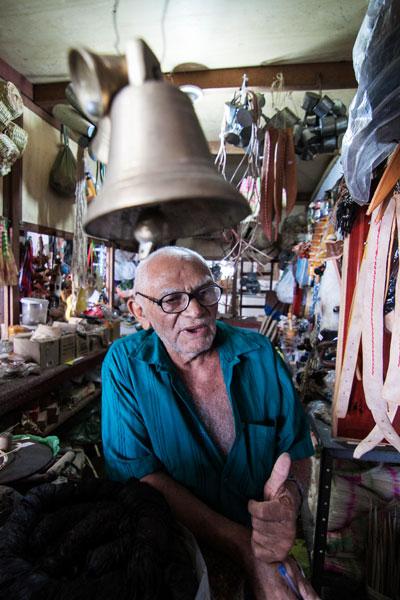 Antônio Rocha, comerciante do Mercado da 6, no Alecrim, afirma que não há incentivo turístico para o bairro