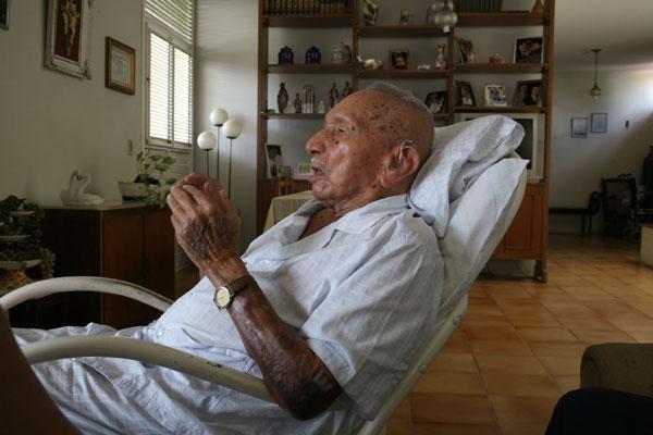 Em maio de 2008, Tribuna do Norte teve encontro com João Paulo de Souza, que faleceu ontem, aos 110 anos de idade
