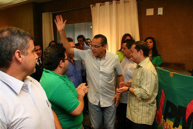 Henrique Alves: fortaleciento do PMDB e projeção nacional