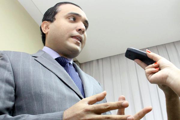 Após posse, Ney Lopes Júnior afirmou que vai dar prioridade ao pagamento dos servidores