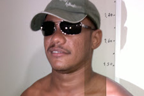 Clédson Bruno da Costa foi preso ontem em flagrante