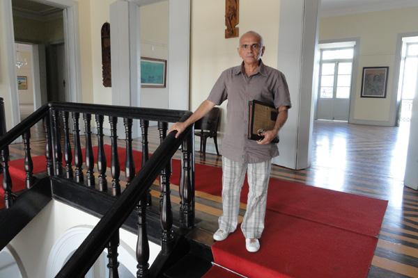 Franklin Jorge assume Pinacoteca do Estado com o compromisso de organizar a reserva técnica, atualizar inventário e selecionar obras do acervo