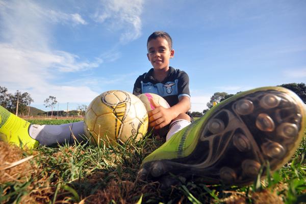 Gabriel Victor, natalense de nove anos de idade já tem passe avaliado em R$ 2,5 milhões e está sendo disputado por equipes grandes do Brasil e até da Espanha