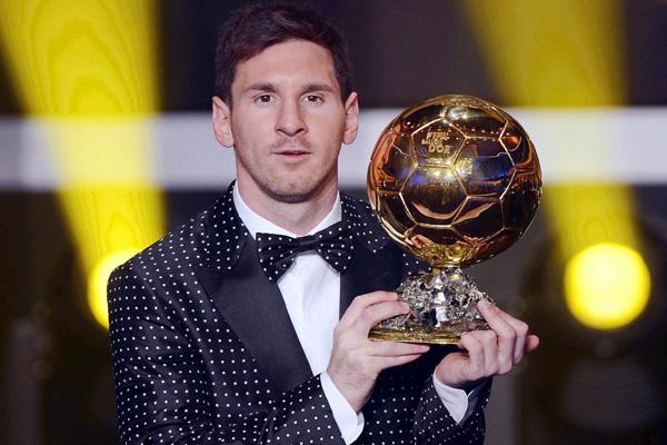 O jogador argentino ficou à frente do português Cristiano Ronaldo e do espanhol Andrés Iniesta
