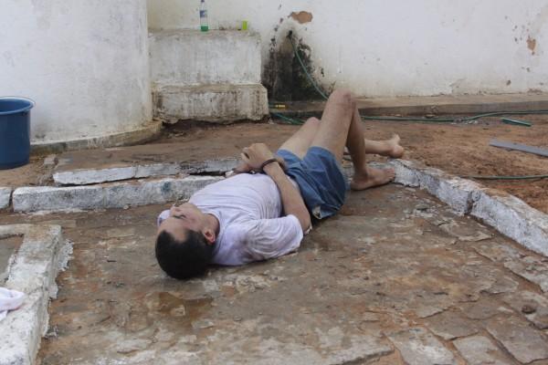 Na sexta-feira e no sábado, Milton da Silva Lopes conseguiu escapar, mesmo algemado, duas vezes do CDP de Candelária