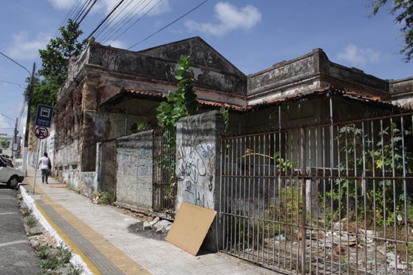 Casarão faz parte do conjunto arquitetônico do Corredor Cultural