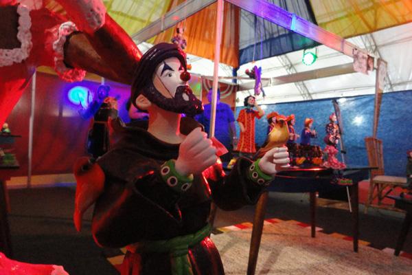 O São Francisco circense foi a criação que destacou a obra do artista Guimarães Bezerra. Atualmente ele possui outros 300 personagens