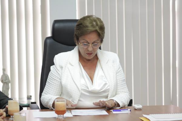 Governadora Rosalba Ciarlni firma contrato com o Banco do Brasil